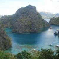 Coron , a fantasy island that actually exists.