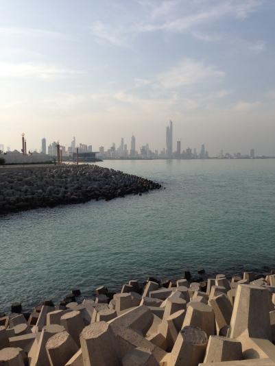 Arabian Gulf on a clear,sunny day.