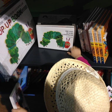 I found my favorite ! The Hungry Caterpillar !