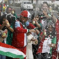 Only in Kuwait : National Water Gun Spraying Day