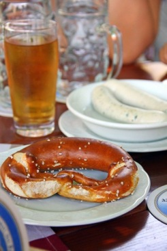 Beer and Pretzel, a German legacy