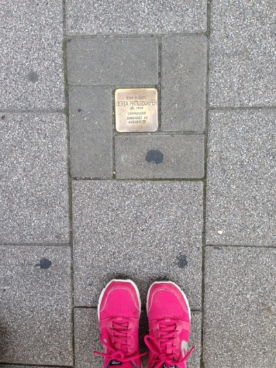 Stolpersteine of Berta Prölsdolfer- Auschwitz