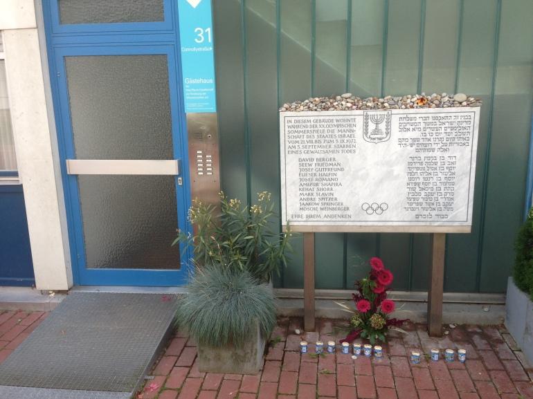 Olympic memorial munich 1972