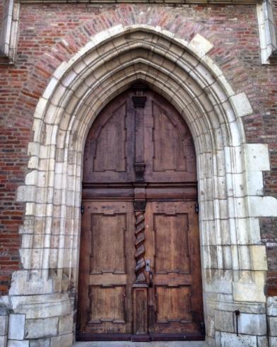 The door of Liebfrauenmünster