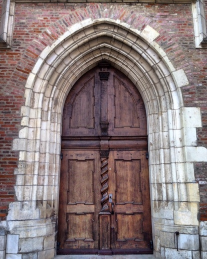 The door of Liebfrauenmünster
