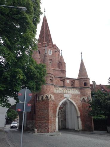 Kreuztor-the city's most famous landmark