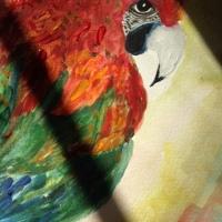 Parrot symbolism in Art