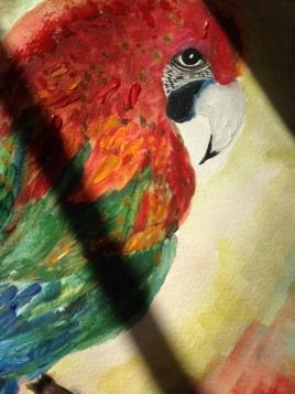Parrot Symbolism in Art (29.7 x 42cm)