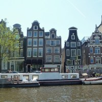 The  Gable houses in Amsterdam