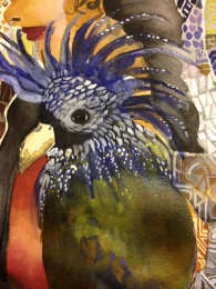 parrot painting 3