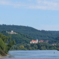 Cruising along the Danube