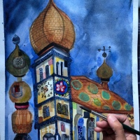 Hundertwasser and Kuchlbauer Tower : When Beer and Art meets