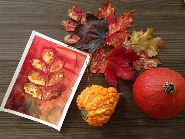 autumn painting 1