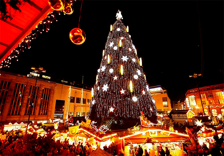 christmas tree in germany