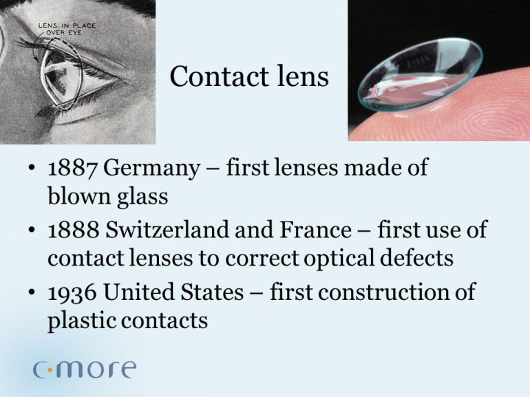 Contact+lens+1887+Germany+–+first+lenses+made+of+blown+glass