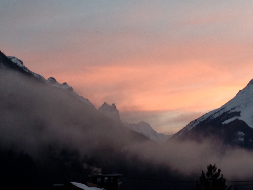 sunset in tirol