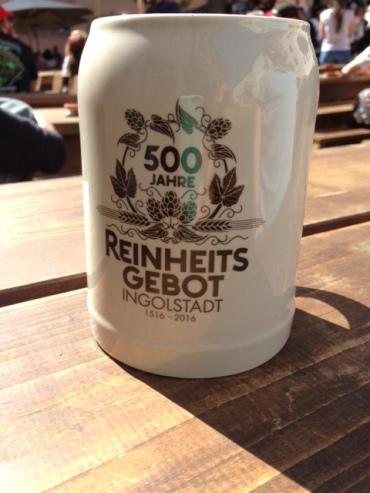 Jubilaeums Beer Mug