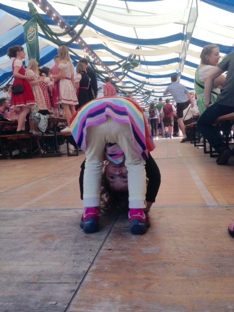 natalie in Volksfest